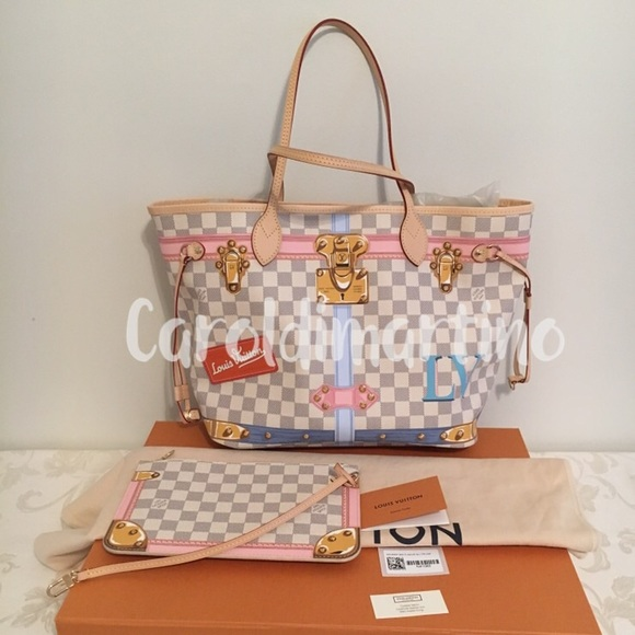70f9dcadaa74 Louis Vuitton Neverfull MM Summer Trunk 2018